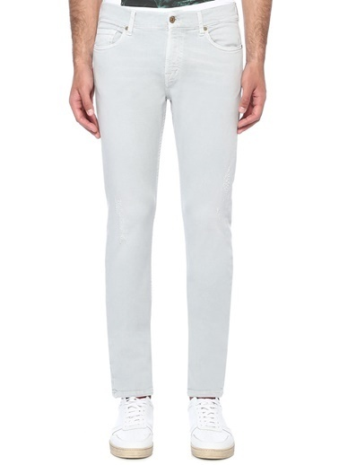 7 For All Mankind Pantolon Gri